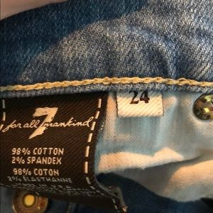 7 For All Mankind Jeans - 7 For All Mankind The Skinny jean!